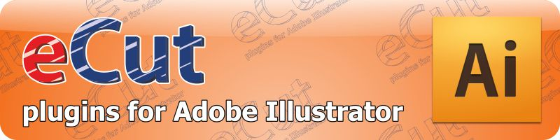 eCut Adobe Illustrator plugins: nesting, plotting, cnc - Main